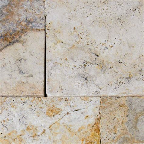 Tuscany Porcini Travertine Pavers   Floors USA