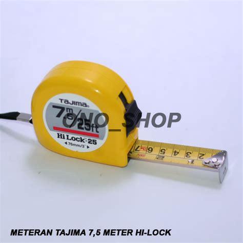 Meteran Vander 5 Meter By Ono Shop jual meteran tajima 7 5 meter hi lock ono shop