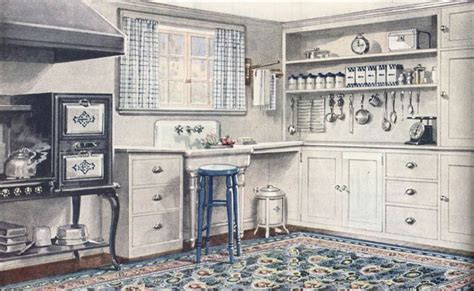 1920s kitchen the little red chair the 1920 s kitchen tour