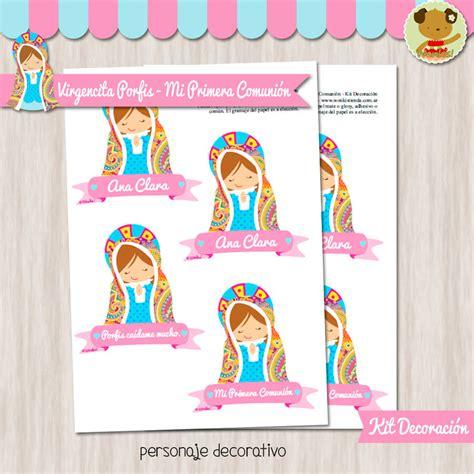 decoracion con virgencitas porfis virgencita porfis kit decoracion fiesta imprimible