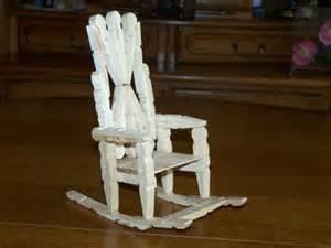 la chaise 224 bascule en 233 pingle 224 linge cr 233 ation cr 233 ation
