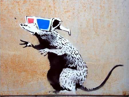 amazing banksy graffiti artworks  locations