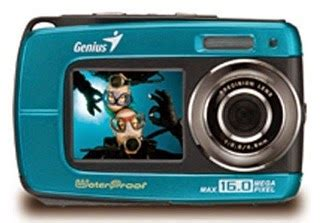 Kamera Sony Tahan Air spesifikasi genius g 510 kamera digital tahan air