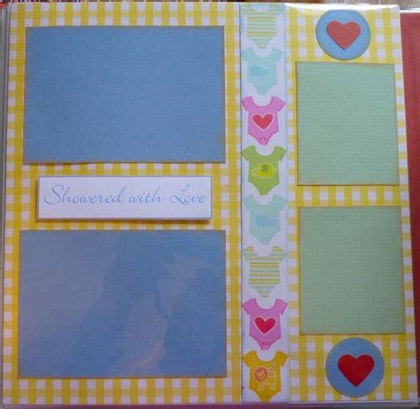 Baby Shower Scrapbook Pages by 1000 Ideas About Baby Book Pages On Scrapbook
