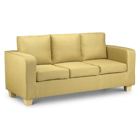 3 Seater Couches by 3 Seater Sofa Lime Light Ebay