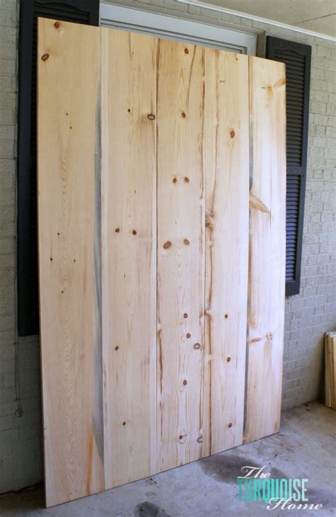 Sliding Barn Door Diy Diy Barn Doors The Turquoise Home