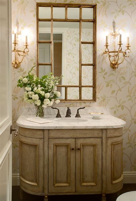 elegant powder rooms elegant powder room for the home pinterest