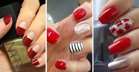 imagenes de uñas decoradas rojo de 180 u 209 as rojas decoradas u 209 as decoradas nail art