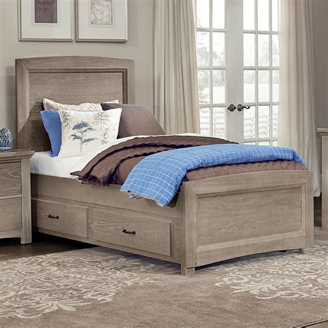How To Disassemble Bed by Vaughan Bassett Transitions Panel Bed With Trundle