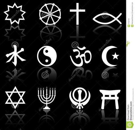 imagenes de simbolos goticos s 237 mbolos religiosos no preto foto de stock royalty free