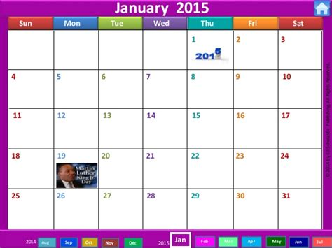 interactive calendar template calendar for 2015 interactive calendar template 2016