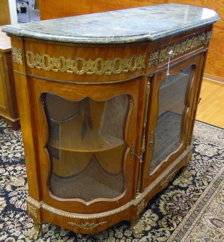 Antique Vintage Green Marble Top Server China China Cabinet Claw Feet   Egypt   eBay