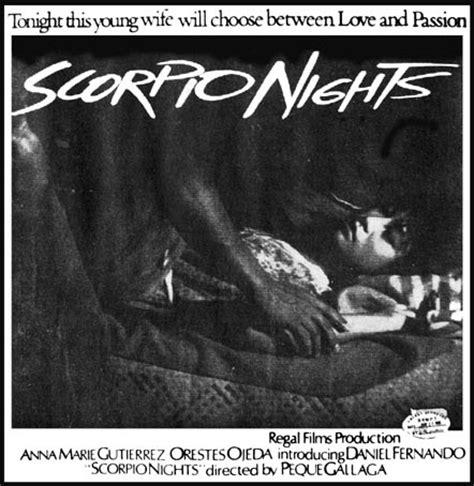 scorpio nights 1985 picture photo of scorpio nights fanpix net video 48 bold stars of the 80s 2 anna marie gutierrez