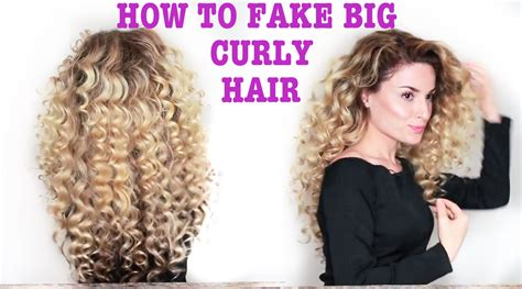 how to style natural curly hair step by step how to fake big naturally curly hair with subs youtube