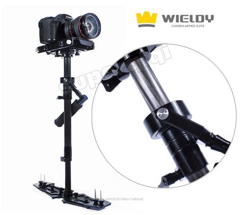 Wieldy Pro 1 7 5kg Vest Dual Arm Systems For Dslr new 1 7 5kg wieldy pro carbon fiber steadicam stabilizer