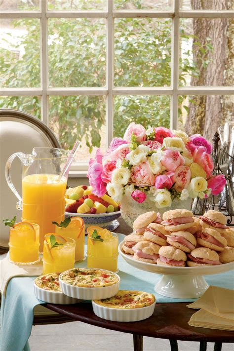 easy recipes for bridal shower easy shower ideas and shower recipes southern living