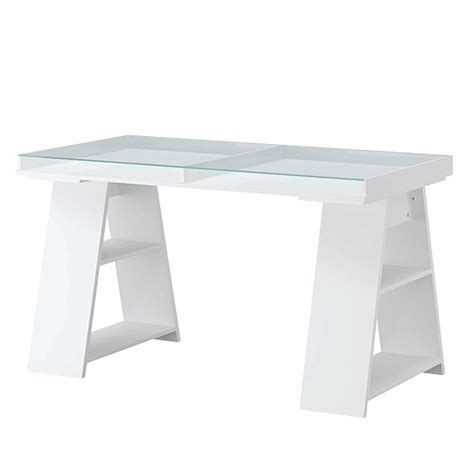 Ikea Glass Top Desk Vika Gruvan Table From Ikea Trestle Dining Tables 10