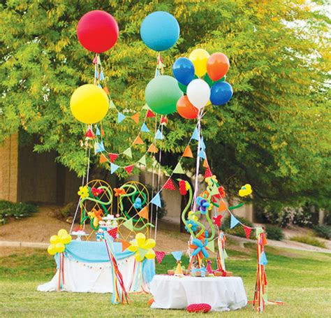 balloon themed birthday party balloon decoration for party party favors ideas