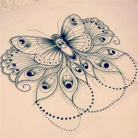 mandala tattoo with butterfly peacocks butterflies and tatuajes on pinterest