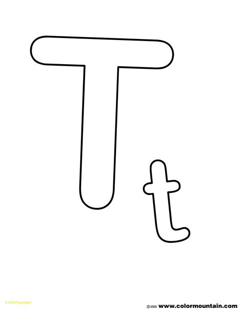 coloring pages with letter t t coloring pages with 23 letter t coloring pages letter t