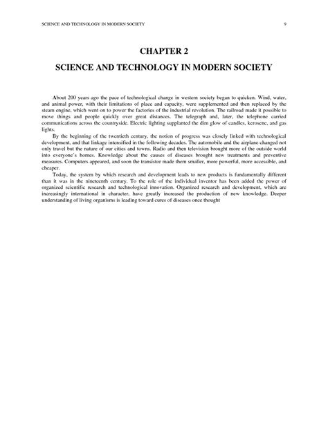 Technology In Our Society Essays by Essay On Impact Of Science And Technology Society Docoments Ojazlink