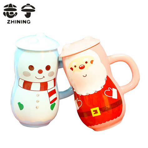 3d Mini Owl Creative Coffee Milk Cups Ceramic popular santa cup buy cheap santa cup lots from china santa cup suppliers on aliexpress