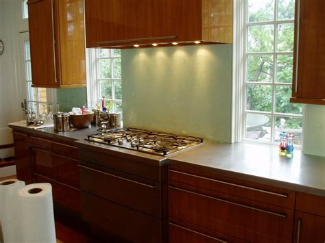 Back Painted Glass Kitchen Backsplash 1000 Images About Backsplashes On Pinterest