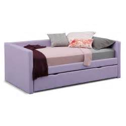 Amazing purple daybed with pop up trundle bed with gorgeous designs