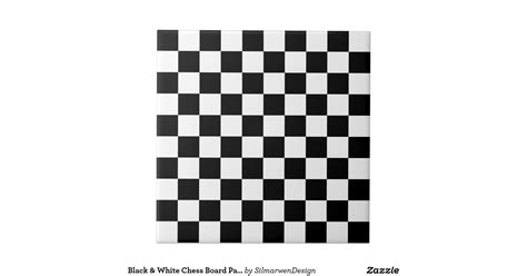 design pattern for chess game black white chess board pattern tiles