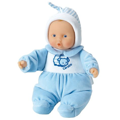 Bluss Baby Doll corolle babicorolle babipouce blue baby growing your baby