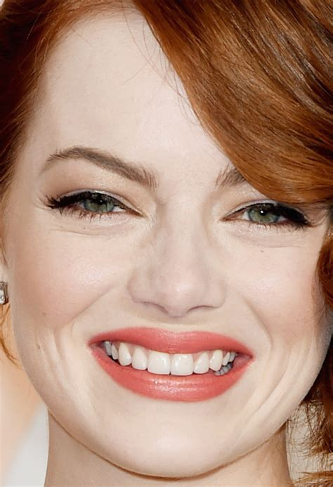 emma stone close up the best beauty at the 2015 oscars beautyeditor