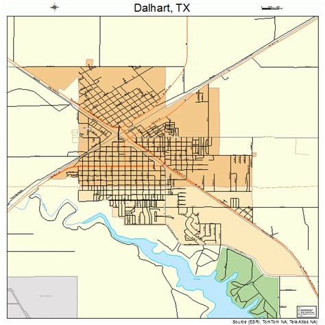 map of dalhart texas dalhart texas map 4818524
