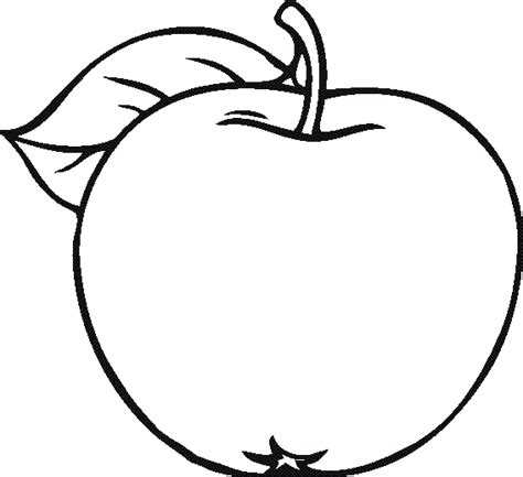 Fruits And Vegetables Coloring Pages For Kids Sketch Page sketch template
