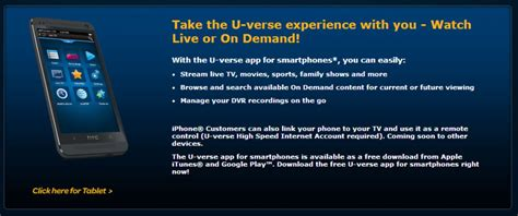 att uverse apps for android at t brings live tv to android ios with uverse app
