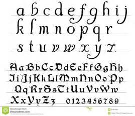 medieval alphabet stock photos image 31001593