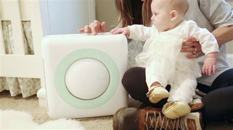 coway air sound air purifier for baby s nursery