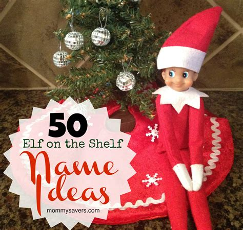 elf   shelf names  ideas  boys  girls