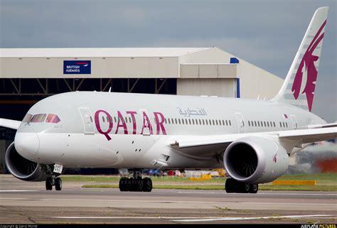 Qatar Airways Interior A7 Bcc Qatar Airways Boeing 787 8 Dreamliner At London