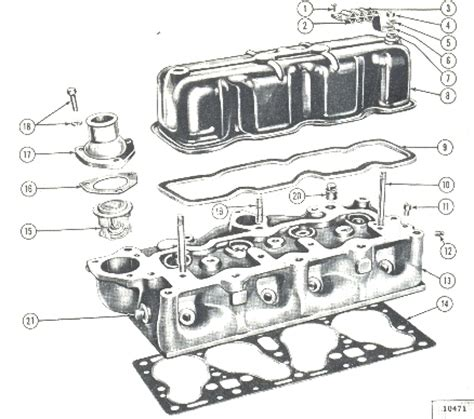 hurricane oil l parts willys jeep parts diagrams illustrations from midwest