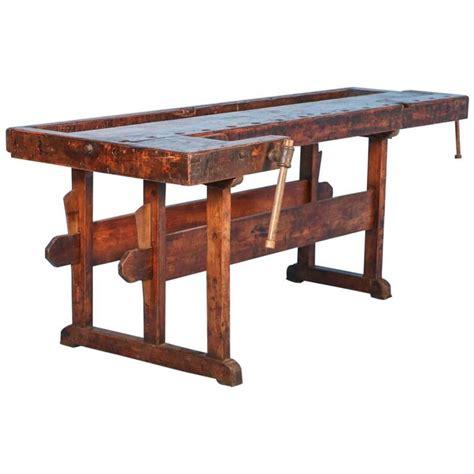 antique carpenter s bench antique carpenter s workbench denmark circa 1900s at 1stdibs