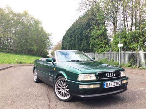 old car repair manuals 1997 audi cabriolet electronic throttle control 1997 r reg audi 80 cabriolet 2 6 v6 auto classic tax tested cactus pearl green px bargain