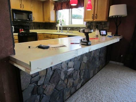How To Kitchen Countertops by 13 Different Ways To Make Your Own Concrete Kitchen