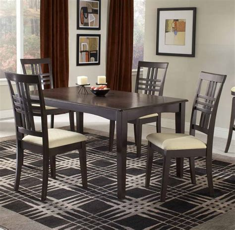 fancy black dining set cheap dining room tables