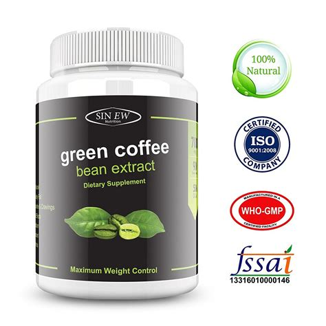 Green Coffee Extract sinew green coffee beans extract 700 mg sinew nutrition