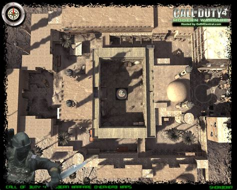 call of duty 4 maps cod4 central cod4 maps showdown high resolution modern warfare remastered