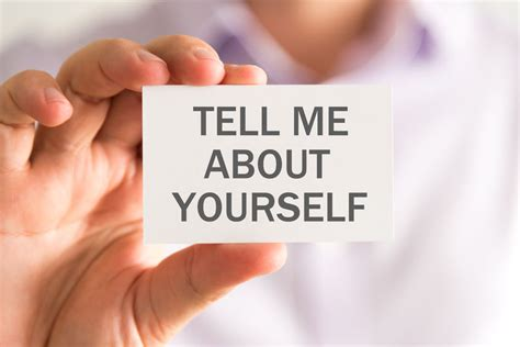 Mba Tips Tell Me About Yourself by The Toughest Question And How To Answer It