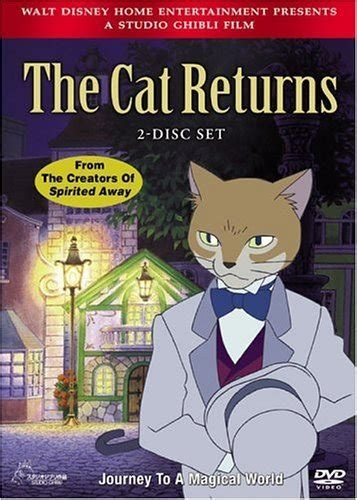 ghibli cat film the cat returns the world is quiet here