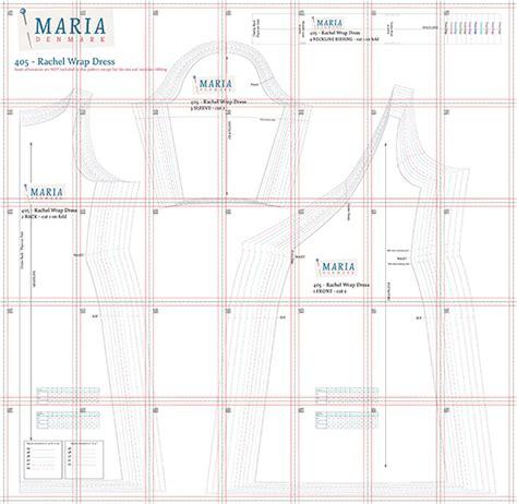 405 line pattern generator mariadenmark 405 rachel wrap dress downloadable pattern