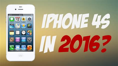 iphone 4s review iphone 4s in 2016 review
