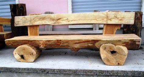 costruire una panchina in legno panca in legno fai da te